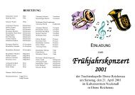 Einladung 2001