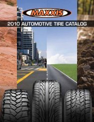 2010 AUTOMOTIVE TIRE CATALOG