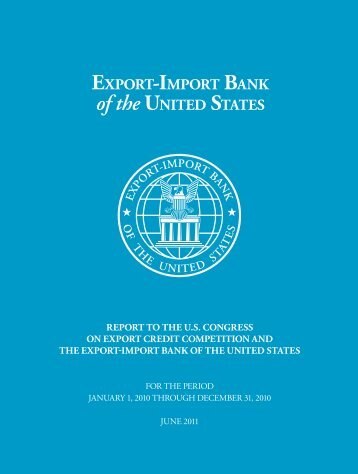 2010 Competitiveness Report - Export-Import Bank of the United ...