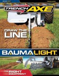 Baumalight Trencher.pdf - Edney Distributing Co. Inc.