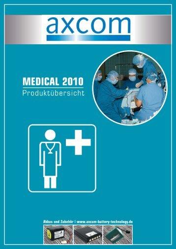 MEDICAL 2010 - Axcom GmbH