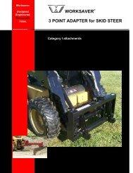 Worksaver Skid Steer - Edney Distributing Co. Inc.