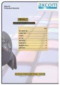 Akkus für Professional Camcorder - Axcom GmbH - Seite 2