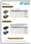 Akkus für Professional Camcorder - Axcom GmbH - Seite 4