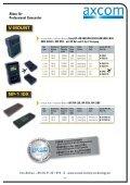 Akkus für Professional Camcorder - Axcom GmbH - Seite 5