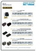 Akkus für Professional Camcorder - Axcom GmbH - Seite 6