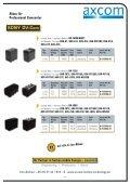 Akkus für Professional Camcorder - Axcom GmbH - Seite 7