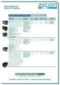 Akkus für Werkzeuge Batteries for Powertools - Axcom GmbH - Seite 7