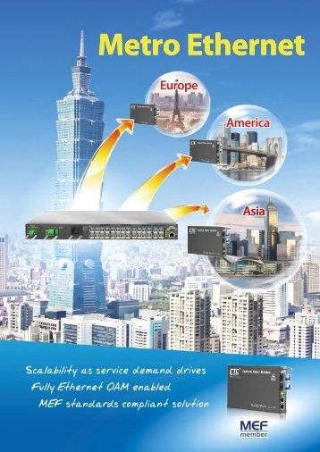 Metro Ethernet - CTC Union Technologies Co.,Ltd.