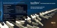 CD User Guide - IsoTek Systems