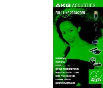 AKG-Full line