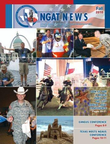 NGAT Magazine - Fall 2010 - National Guard Association of Texas