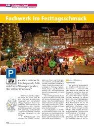 Fachwerk im Festtagsschmuck - Reisemobil Interaktiv