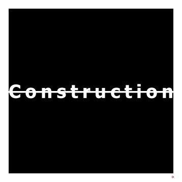 Construction - Ecole Nationale Supérieure d'Architecture Paris-Val ...