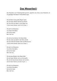 Das Weserlied II
