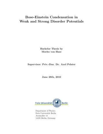 Bose-Einstein Condensation in Weak and Strong Disorder Potentials