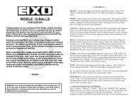 Riddle - Instructions (PDF) - Electro-Harmonix