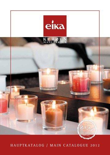 Hauptkatalog / Main catalogue 2012 - Eika.de