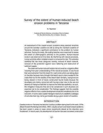 an examination of the problem of beach erosion Coastal erosion hazard area management program annual assessment form  (pdf  the management of coastal erosion hazard areas helps to protect  coastal  dec works with us ace to study coastal erosion problems along  coastlines.