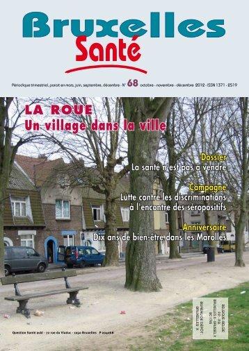Bruxelles Santé n° 68 - décembre 2012 - PMB