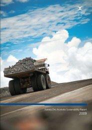 Xstrata Zinc Australia Sustainability Report - Mount Isa Mines