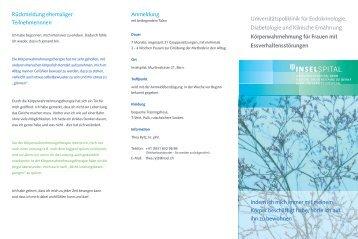 Universitätspoliklinik für Endokrinologie, Diabetologie und Klinische ...