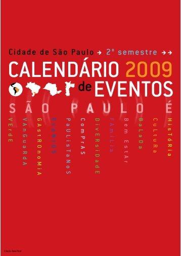 PDF version (2nd sem. 2009) - São Paulo Turismo