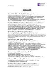 Terminvorschau 2008 - Alcatel-Lucent Stiftung für ...