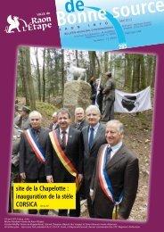 budget 2013 - Raon l'Etape