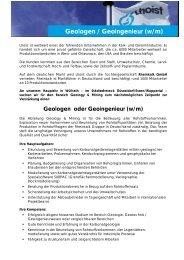 Stellenbeschreibung (PDF, 82 KB) - Rheinkalk