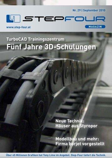 Fünf Jahre 3D-Schulungen - Step four