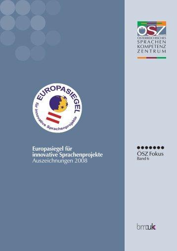 ESIS Broschuere 2008 - Österreichisches-Sprachen-Kompetenz ...
