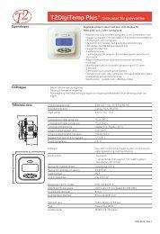 T2DigiTemp Plus - datablad - Elot