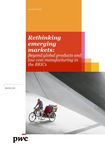 Rethinking emerging markets - PwC