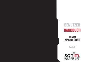 BENUTZER HaNdBUcH - Sonim Technologies