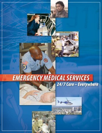 EMERGENCy MEDICAL SERVICES - NHTSA EMS