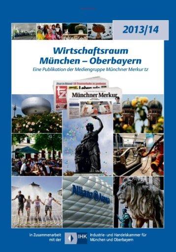 Wirtschaftsraum Muenchen-Oberbayern