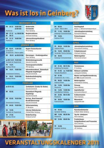veranstaltungskalender 2011_2:Layout 1 - Geinberg