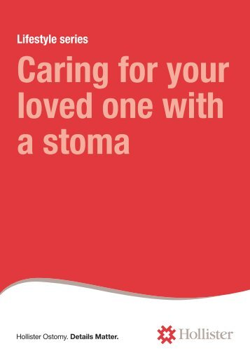 Caring for your loved one with a stoma - Quietwear.co.uk