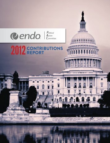 Annual PAC Contributions Report - Endo Pharmaceuticals