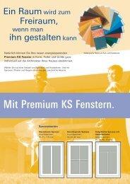 Premium KS Fenster - Eibner und Regnath Fenster-, Türen Gmbh