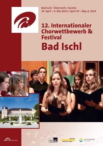 Program Book - Bad Ischl 2014