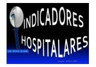 Indicadores hospitalares: um novo olhar - Sistema de ...