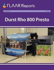Durst Rho 800 Presto - Wide-format-printers.org