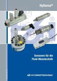 HySense® - Hydrotechnik