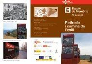 Retirada i camins de l'exili - Generalitat de Catalunya