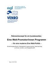 Rahmenkonzept für ein bundesweites Eine Welt-Promotor/innen ...