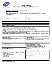 Responsable administratif et financier junior - Rhône-Alpes Solidaires