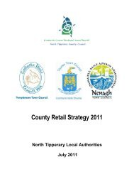 Retail Strategy - North Tipperary County Council