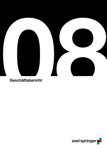 axelspringer.de - Axel Springer Schweiz
